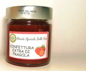 Confettura extra di fragola in vasetto - Az. Agr. Della Fara