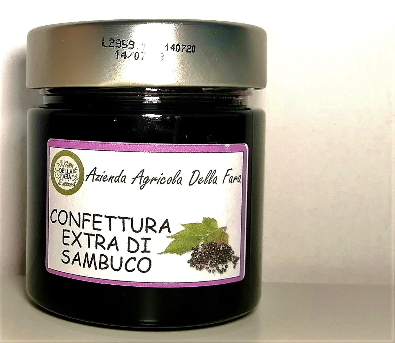 Confettura extra di sambuco in vasetto - Az. Agr. Della Fara