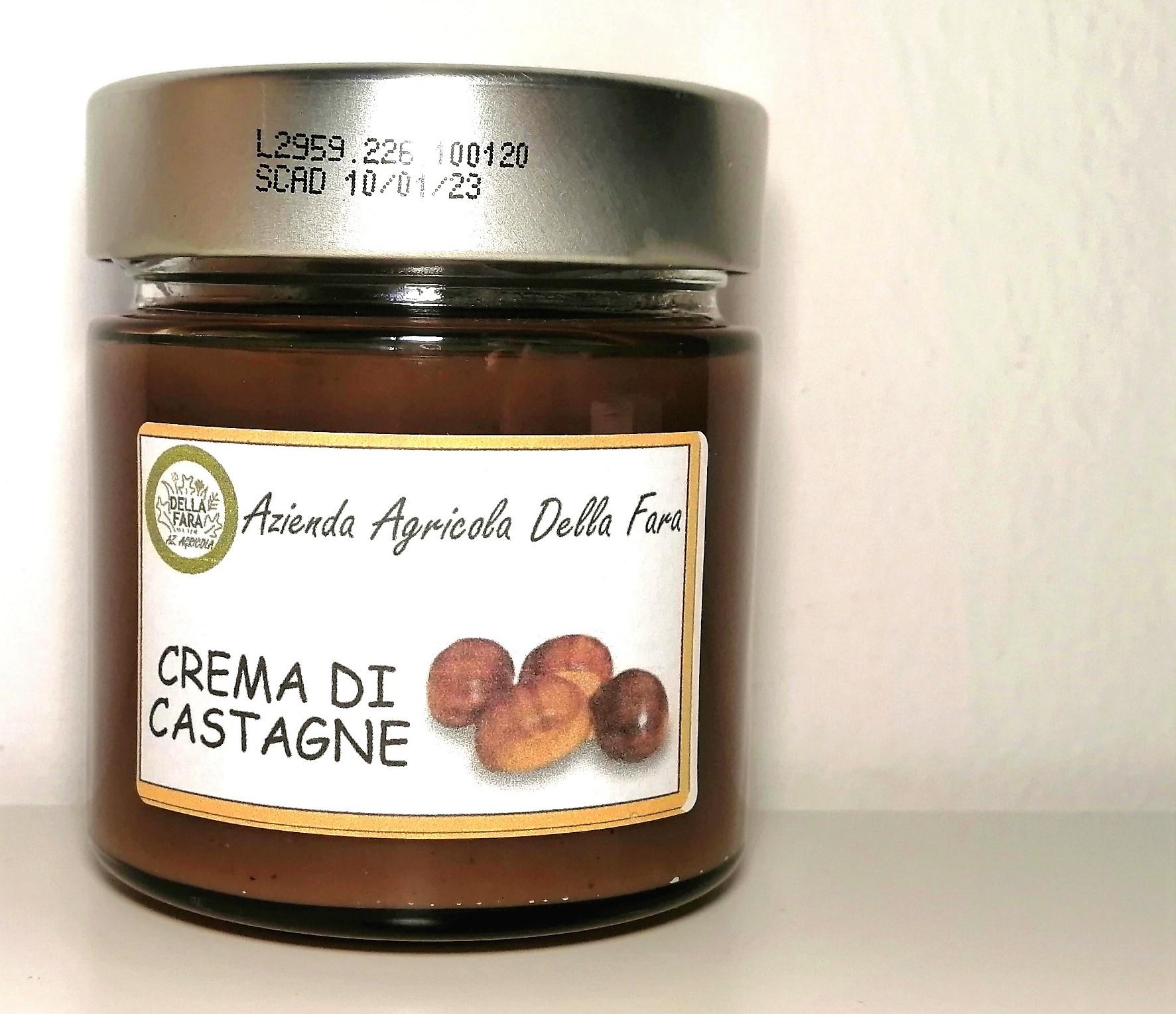 Crema di castagne vasetto - Az. Agr. Della Fara