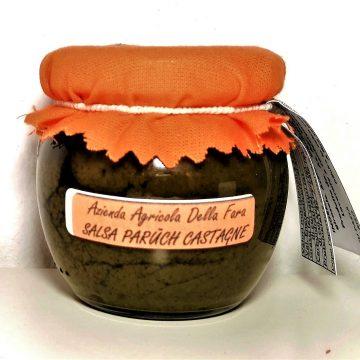 Vasetto salsa di paruch e castagne